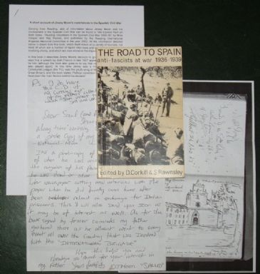 The Road to Spain, by D Corkhill & S Rawnsley, SIGNED BY AROUND 70 INTERNATIONAL BRIGADERS